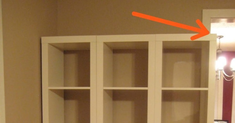 Ikea Kast Past Net Niet Tegen De Wand Zijn Ingenieuze