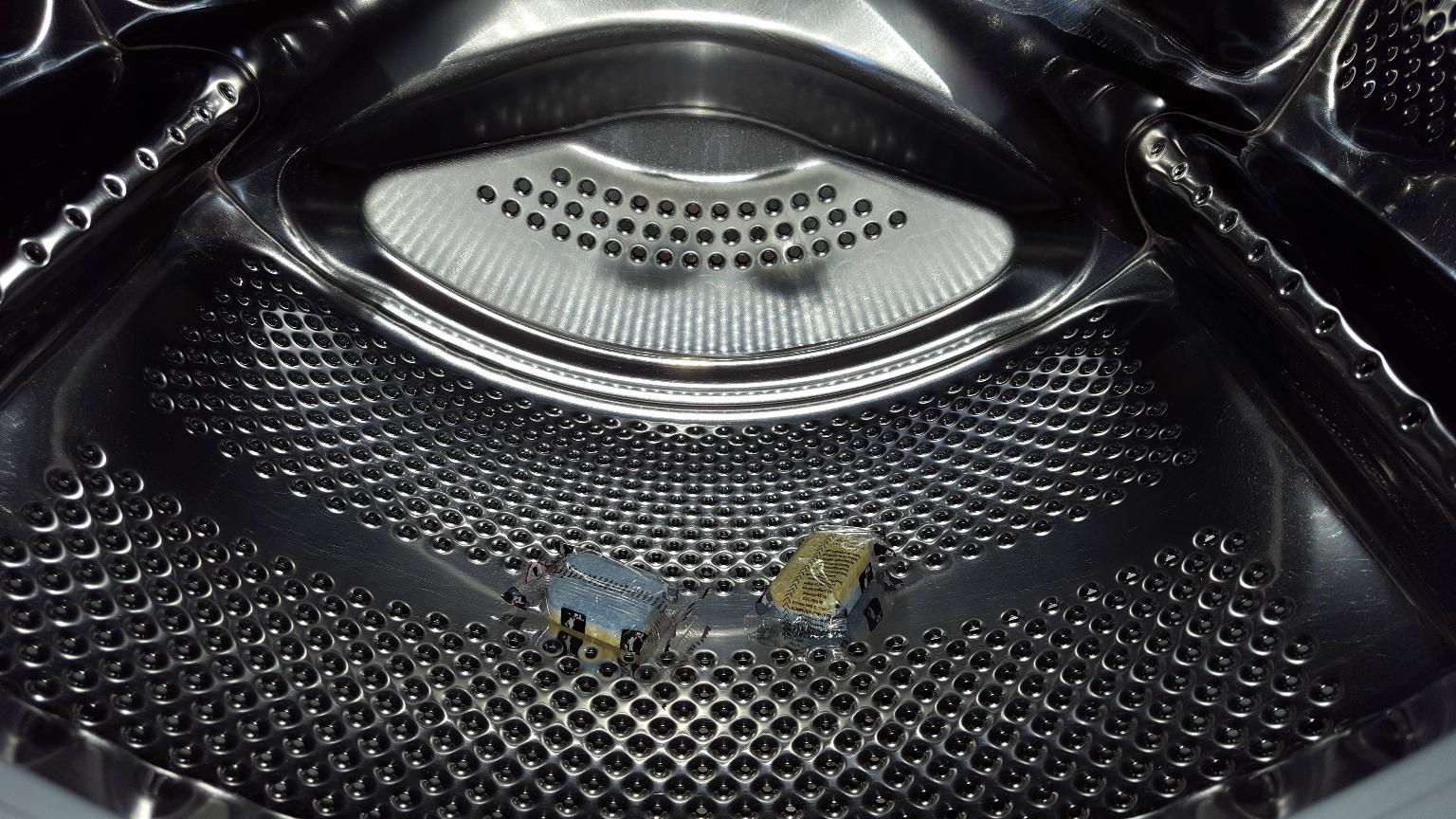 Wasmachine reinigen vaatwastablet